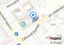 Компания «Алтайский государственный театр музыкальной комедии» на карте