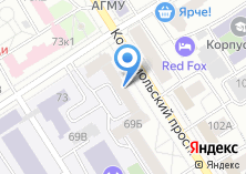 Компания «Политехническая» на карте