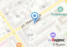 Компания «РУССКИЙ ФЕЙЕРВЕРК Алтай» на карте