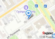 Компания «Адвокатская контора №1 Центрального района» на карте