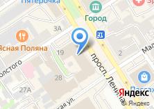 Компания «Телефоника» на карте