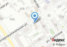 Компания «Алтайская краевая федерация футбола» на карте