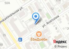 Компания «Города России» на карте