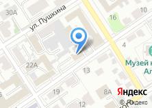 Компания «Роснефть-Алтайнефтепродукт» на карте