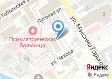 Компания «Автомастерская на Луговой» на карте