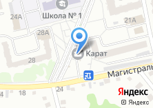 Компания «Асахе» на карте