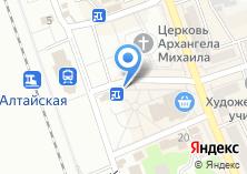 Компания «Магазин горячего хлеба» на карте