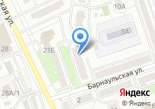 Компания «На Барнаульской» на карте