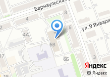 Компания «Автомойка на Партизанской (г. Новоалтайск)» на карте