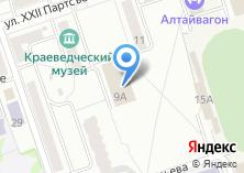 Компания «Участковый пункт полиции ОВД по г. Новоалтайску» на карте