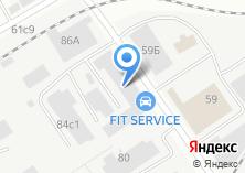 Компания «Спарк-авто» на карте