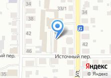 Компания «Источное» на карте