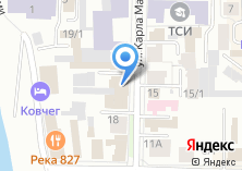 Компания «НГАВТ Новосибирская государственная академия водного транспорта» на карте