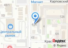 Компания «DRIVER» на карте