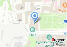 Компания «Томский областной театр юного зрителя» на карте