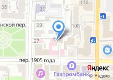 Компания «Красная строка» на карте