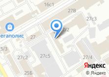Компания «МирСнаб» на карте