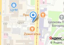 Компания «Город 3822» на карте