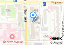 Компания «Кожа & Меха» на карте