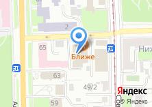 Компания «Сибинтур» на карте