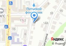 Компания «Департамент капитального строительства Администрации г. Томска» на карте