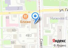 Компания «НИП» на карте