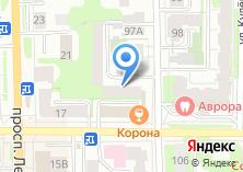Компания «Элеон» на карте