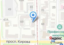 Компания «Tomsk House» на карте