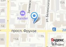 Компания «Томские строители» на карте