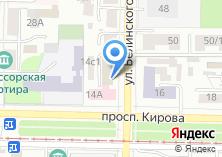 Компания «Фонд развития малого и среднего предпринимательства Томской области» на карте