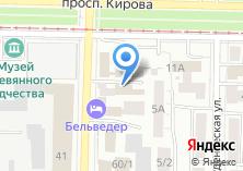 Компания «СФЕРА-Т» на карте