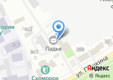 Компания «Тепромес» на карте