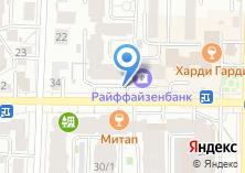 Компания «Авторская мебель» на карте