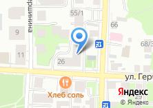Компания «Пралине» на карте
