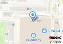 Компания «Разноторг» на карте