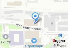 Компания «Стройпарк торговый комплекс» на карте