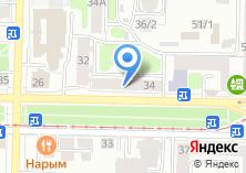 Компания «Бельведер» на карте