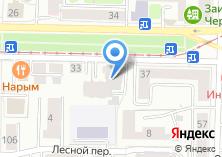 Компания «Томский Национальный Холдинг» на карте