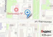 Компания «Инта» на карте
