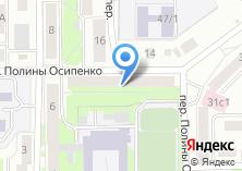 Компания «Заводской массив» на карте
