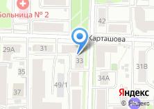 Компания «Одноразик» на карте
