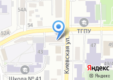 Компания «Сибирский кадастр» на карте