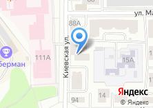 Компания «Строящийся жилой дом по ул. Киевская» на карте