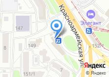 Компания «Пончики» на карте