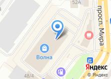 Компания «Batel» на карте