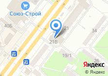 Компания «Фабрика дверей» на карте