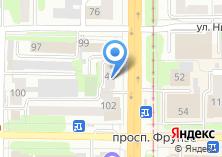 Компания «КлючСервис» на карте