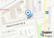 Компания «ДиН» на карте