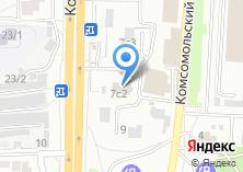 Компания «КМПК» на карте