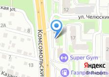 Компания «СибЭнергоМонтаж» на карте
